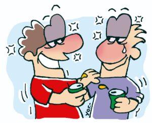 ilustración de amistad en Paraguay