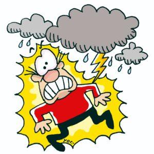 """""""Amenazo"""" es un paraguayismo usado en el pronóstico meteorológico popular."""
