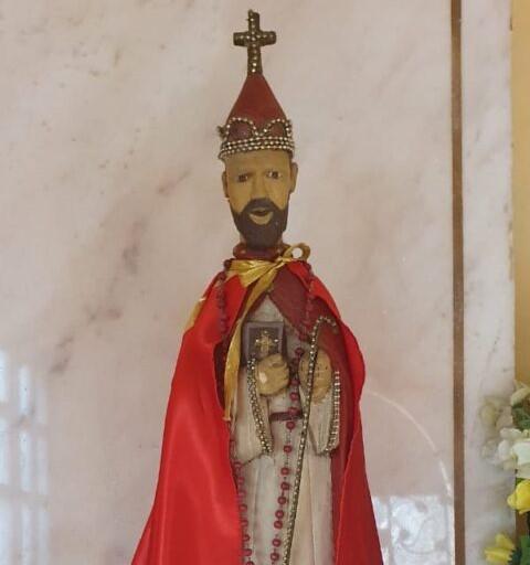 San Blas, patrono del Paraguay