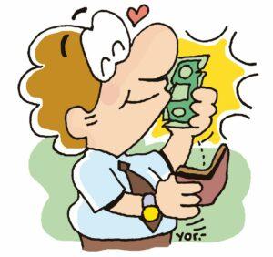 """plata sy"" es la madre del dinero."