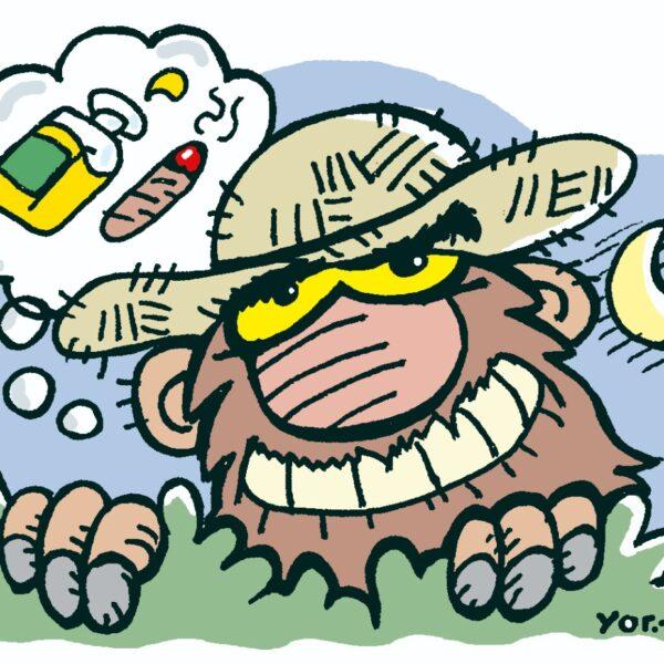 """El """"Pombero"""" es el personaje mitológico más popular en Paraguay."""