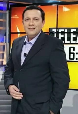 Juan Carlos Bareiro, periodista y conductor de TV